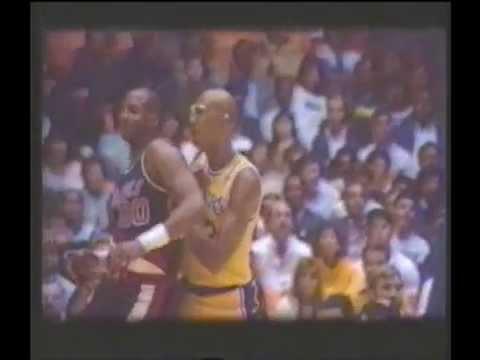 1988 NBA LAKERS ABDUL 33