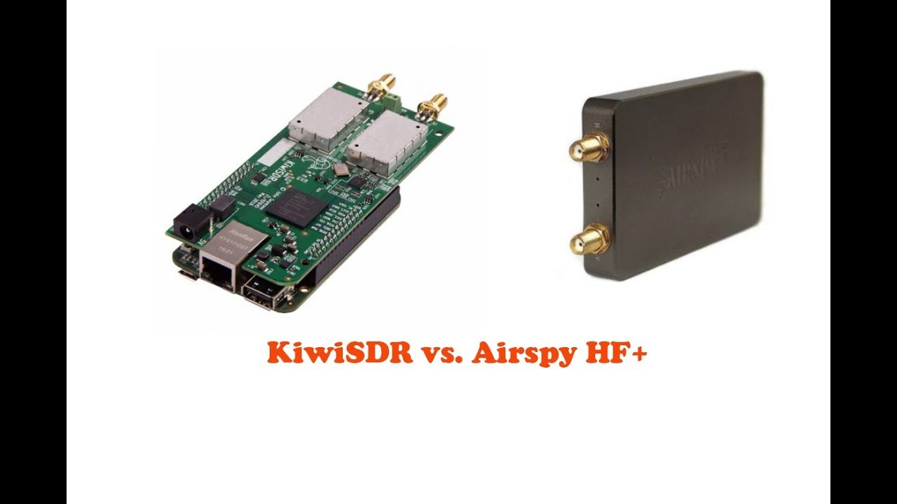 Airspy HF+ vs  Kiwisdr SDR Radio comparison