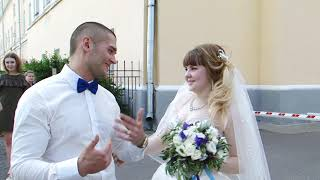 29 июля 2017. Свадьба во Владимире. ВИДЕО_ФАКТ (просто проходили рядом)