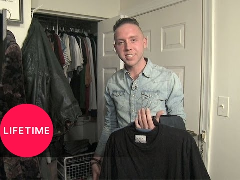 Project Runway: Alexander Knox's Closet Tour (S13) | Lifetime