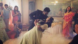 Engagement cermony Dance | Surprise flashmob for bride | Most romantic groom 2019