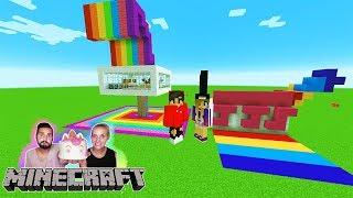 KAANS EINHORN HAUS vs NINAS EINHORN HAUS! Welches Haus ist süßer? Minecraft Build Battle