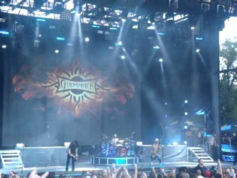 Godsmack - Cryin' Like A Bitch - Rockstar Mayhem Fest - OKC - August 9, 2011
