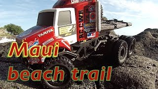 Rc Cwr On The Beaches Of Maui 2 6x6 Losi Trail Trekkers