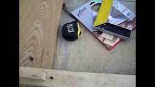 видео ДСП с распилом