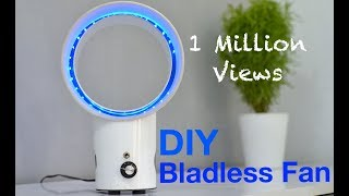 How to make a Blade-Less Table Fan