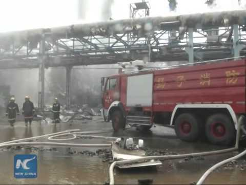 Sinopec refinery reports minor blasts