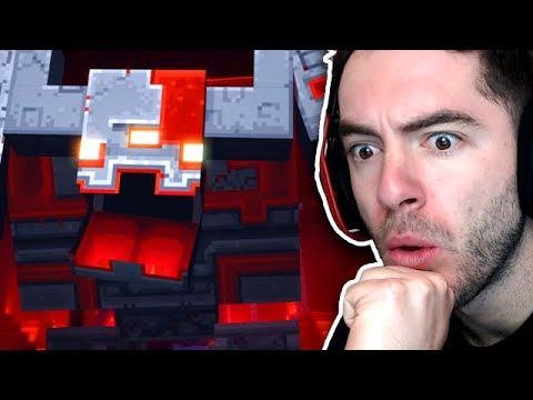 Reacting To The NEW Minecraft Dungeons Trailer