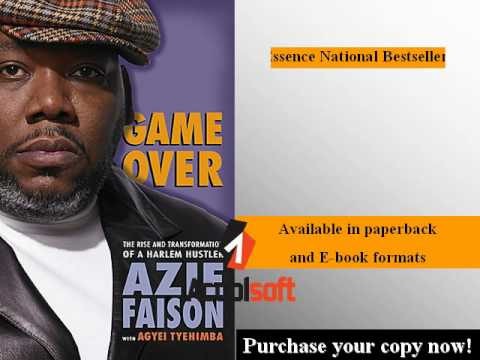 Game Over   Essence Bestselling book by Azie Faison   YouTube