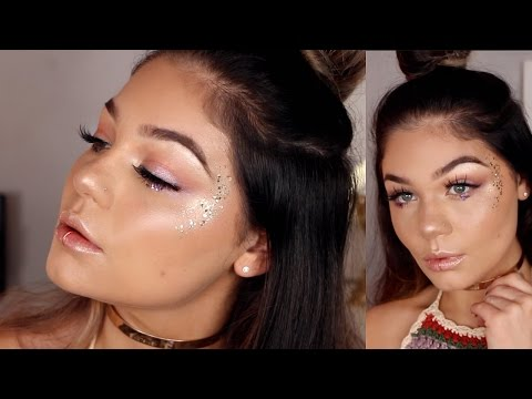 Music Festival Inspired Makeup Tutorial | Blissfulbrii