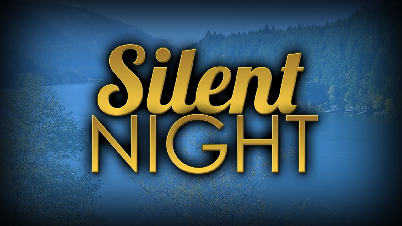 Christmas song: Silent Night with Lyrics | AnimatedFaith.com - YouTube