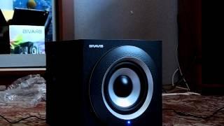 Распаковка + тест аудио системы Bravis U-44 2.1