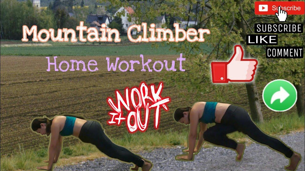How To Do Mountain Climbers - YouTube