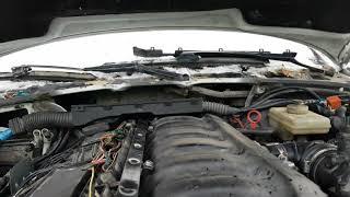M50B25 Даешь газу провал и хлопки.
