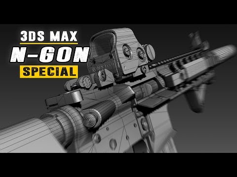 N-Gons Special - Triangles, Quads & N-Gons In Hard Surface Modeling - 3Ds Max 2017