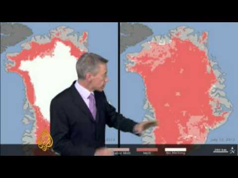 Weather - Richard Angwin on the Greenland ice thaw