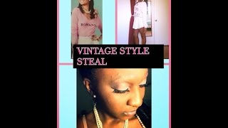 ❤️Vintage Style Steal! (Get Ready With Me) ❤️ Thumbnail