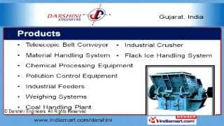 Telescopic Belt Conveyor by Darshini Engineers, Ahmedabad
