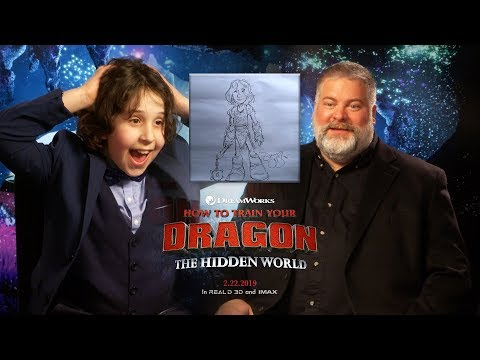 KID MEETS HOW TO TRAIN YOUR DRAGON CREATOR DEAN DEBLOIS | HOW TO TRAIN YOUR DRAGON INTERVIEW