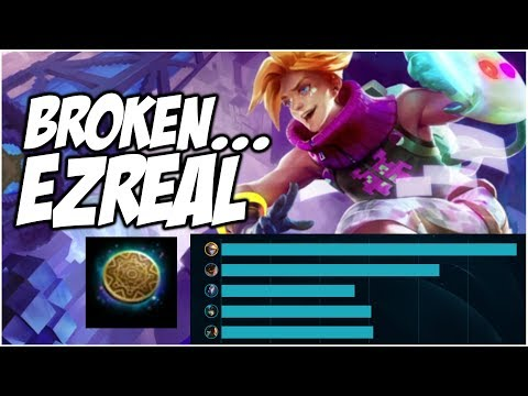 KLEPTOMANCY EZREAL IS BROKEN | League of Legends thumbnail