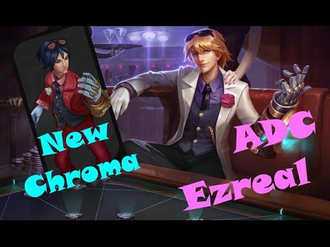 League of Legends PBE: New Chroma Debonair Ezreal ADC