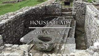 Housesteads Roman Fort   Full Tour. Hadrian's Wall, Northumberland