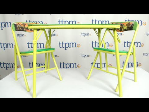 Teenage Mutant Ninja Turtles Table And Chair Set From Kids Only