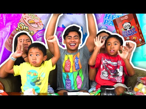 TRYING OUT DELICIOUS ASIAN SNACKS! ft. My Little Cousins!