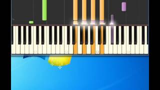 Burt Bacharach   What the world needs now is love [Piano tutorial by Synthesia]