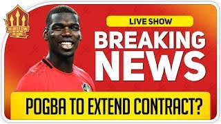 Pogba to Stay at United? Man Utd News Now