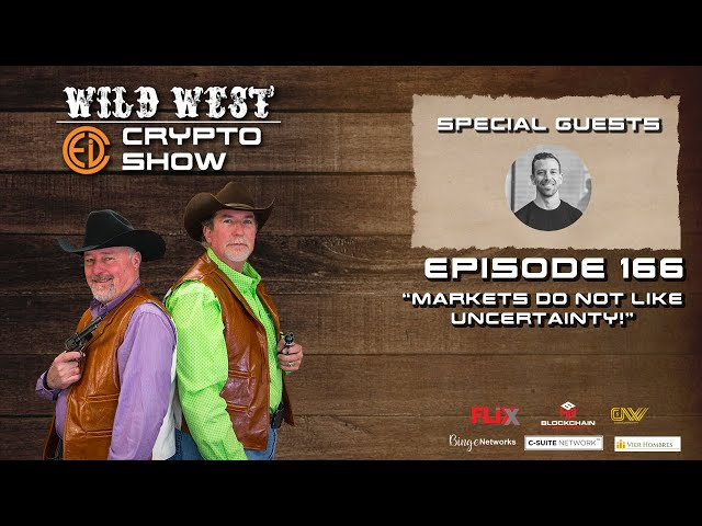 Wild West Crypto Show Episode 166 | Markets Do Not Like Uncertainty!