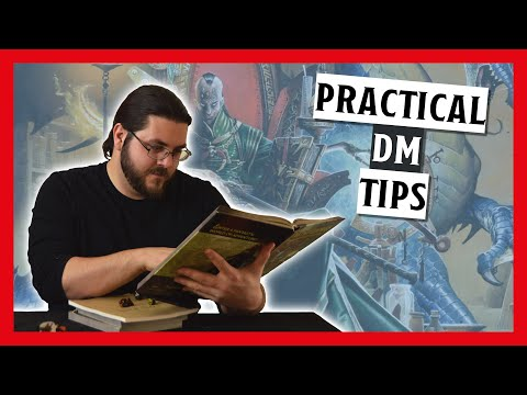 5 Practical Tips For Dungeon Masters | How to Be A Dungeon Master Ep. 12