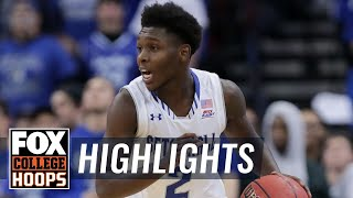 Seton Hall vs Monmouth | Highlights | FOX COLLEGE HOOPS