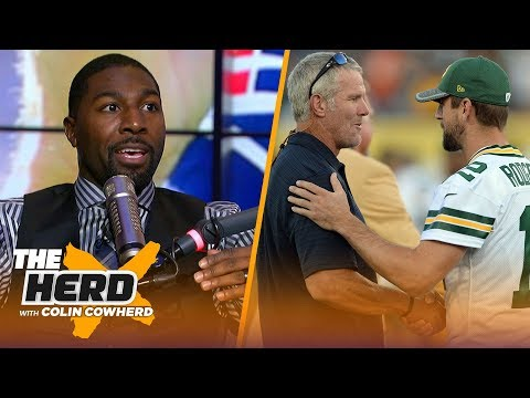 Greg Jennings on Warren Moon's Brady comments, Favre good fit for Packers coach? | NFL | THE HERD