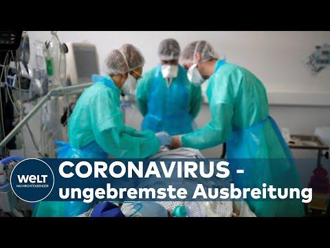 CORONA-HINTERGRUND: Covid-19-Pandemie in vielen Teilen der Welt außer Kontrolle