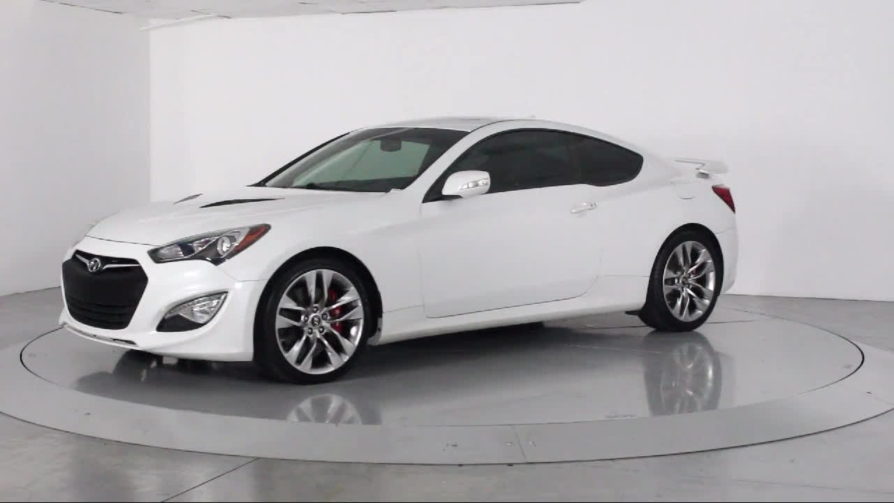 2013 hyundai genesis coupe 3 8 track for sale in miami fort lauderdale hollywood west palm beach. Black Bedroom Furniture Sets. Home Design Ideas