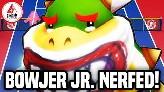 Bowser Jr. Getting NERFED! New Mario Tennis Update!
