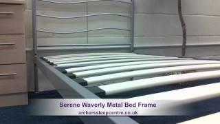 Serene Waverly Metal Bed Frame