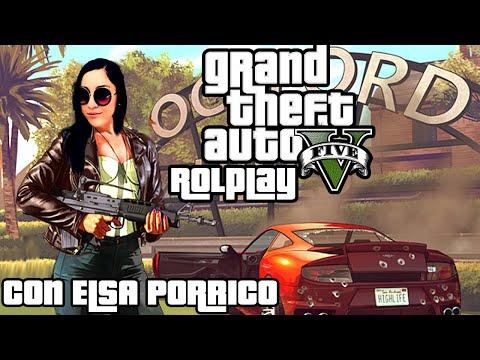 ELSA PORRICO llega a la ciudad // gtaV RP