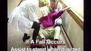 Lesson 25, CNA Training - Fall Prevention and Restraint Alternatives [Part3]
