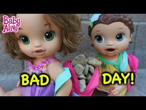 BABY ALIVE Hazel's Bad Day At School! (School Series)