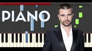 Juanes El Ratico Kali Uchis piano midi tutorial sheet partitura cover app karaoke