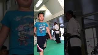 Bobby (shadow sparring) tongil moo-do martial arts