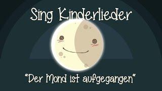 Der Mond ist aufgegangen - Schlaflieder zum Mitsingen | Sing Kinderlieder