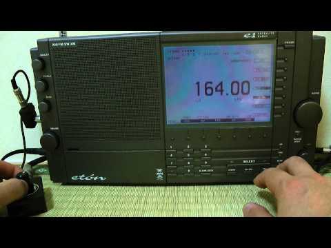 Stasera,ascoltavo bene 164khz Mongolia Radio. / Eton E1
