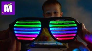 Радио приемник DIY под названием iPhone 8 и очки с чувствительнымы LED полосками Собираем сами