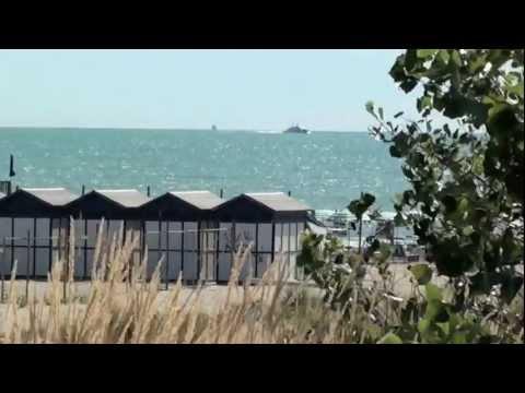 La spiaggia degli Alberoni al Lido di Venezia
