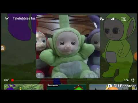 Tinky Winky, Dipsy and Po react to Teletubbies Lost Tubby