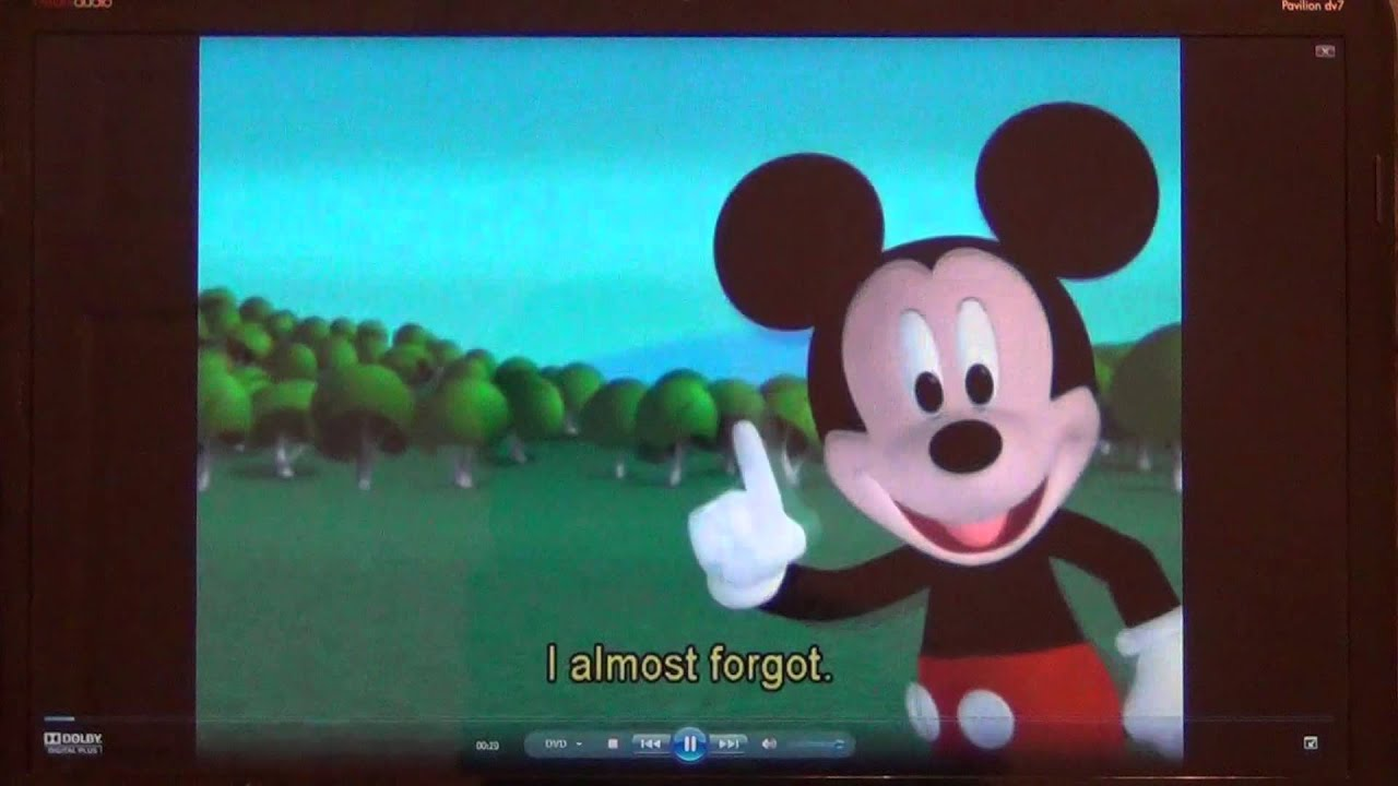 Opening To Mickey Mouse Clubhouse: Mickey's Treat 2007 DVD ...