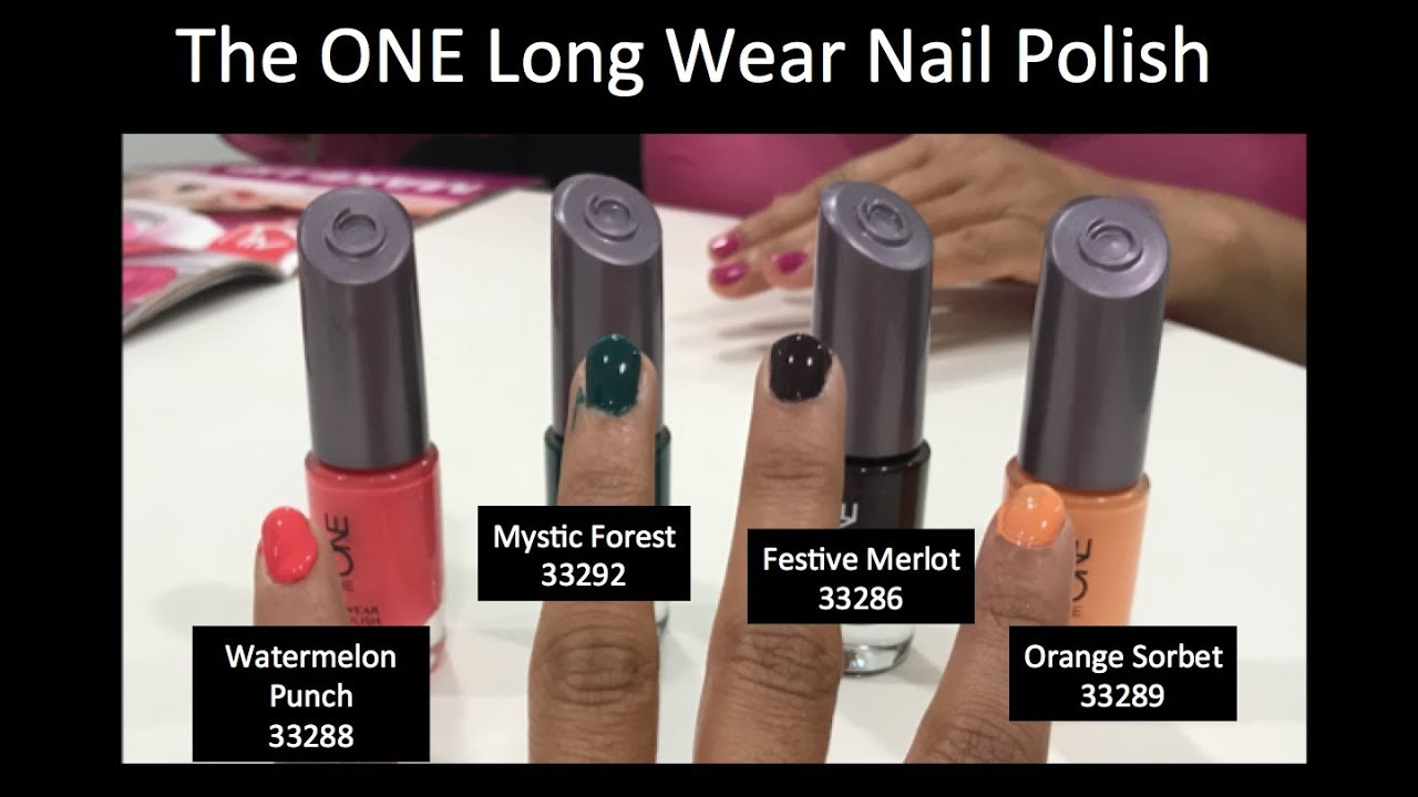 Oriflame Nail Paint Review | Swatches | Oriflame February New ...